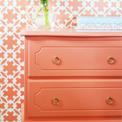 Small Coral Dresser