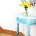 Ombre half table