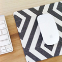 Fabric Covered Mousepad